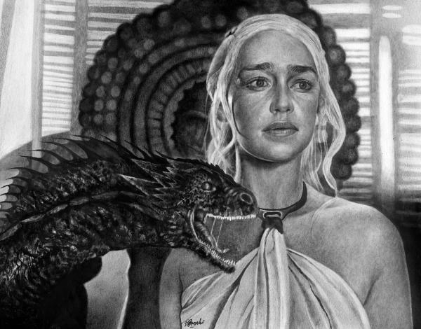 Emilia Clarke por boonie1974